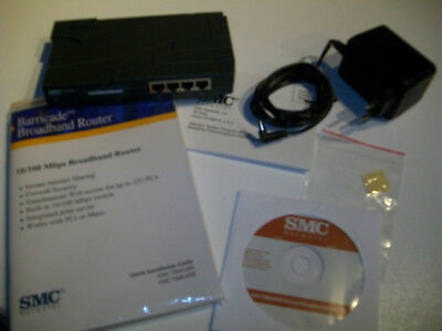 Barricade Broadband Router SMC 7004 ABR 7008