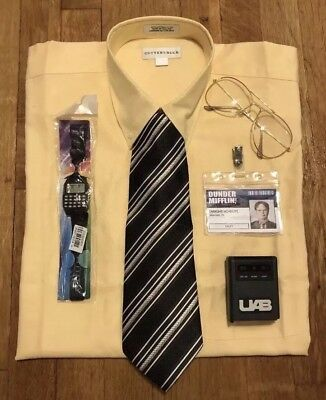 Dwight Schrute Dunder Mifflin Costume from The Office Size Large