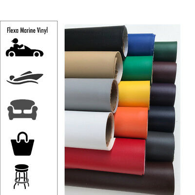 Marine Vinyl Fabric - 54 Boat Auto Upholstery 22- Colors 15102030 Yards