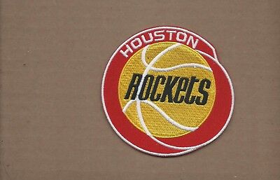 NEW 4 INCH HOUSTON ROCKETS IRON ON PATCH FREE SHIPPING W3