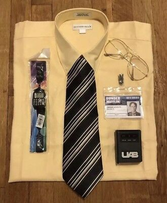 Dwight Schrute Dunder Mifflin Costume from The Office Size Small