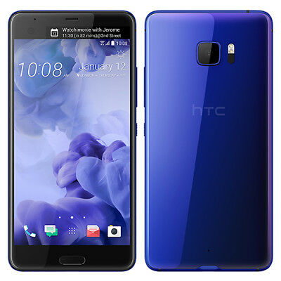 New HTC U Ultra 5-7 Inch 4GB RAM 64GB Sapphire Blue GSM UNLOCKED SINGLE SIM