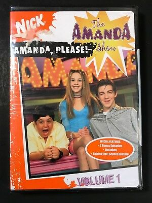 Nick Nickelodeon The Amanda Bynes Show - Amanda Please Vol1 4Eps New DVD