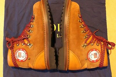POLO Ralph Lauren Team USA 2018 Paralympic Ceremony Suede Boot Ws 9