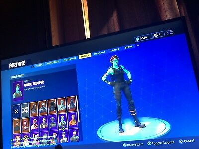 Fortnite Ghoul Trooper Account