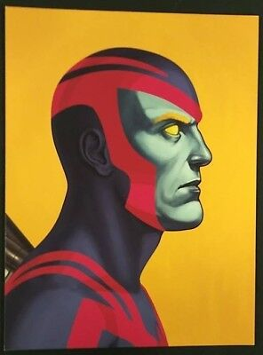 Mike Mitchell Mondo Marvel Archangel Portrait Print Giclee Proof
