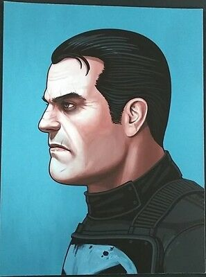 Mike Mitchell Mondo Marvel Punisher Portrait Print Giclee Proof