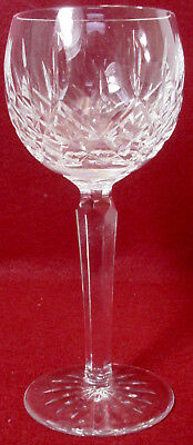 WATERFORD crystal LISMORE pattern Hock Wine Glass or Goblet - 7-12