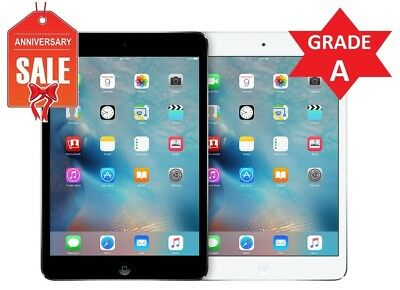 Apple iPad Mini 2 WiFi GSM Unlocked 7-9 - Gray Silver - 16GB 32GB 64GB 128GB