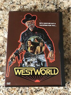 Westworld DVD 2000 Good Condition Rare Snapcase WB