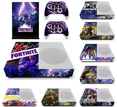 NEW Fortnite Battle Royale Skin For Xbox One S Console and 2 Controllers Decal