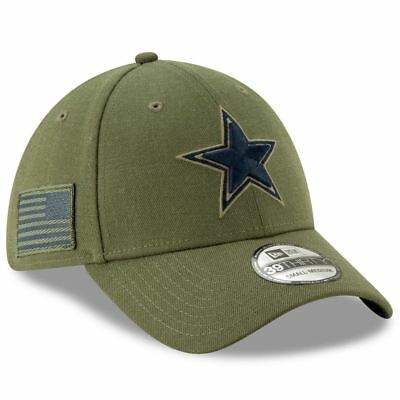 Dallas Cowboys New Era 2018 Salute to Service 39THIRTY Flex Hat