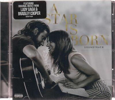 NEW - A Star is Born CD NEW Soundtrack Explicit Lady GagaBradley Cooper SEALED