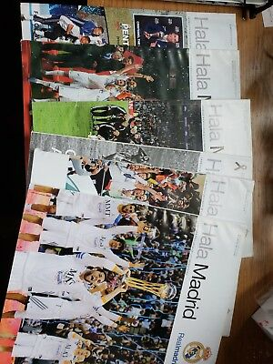 6 Real Madrid magazines  Spanish2014-2015 Pre Owned