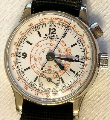 Rolex Marconi Chronograph Doctor Watch