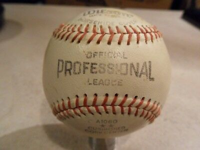 Vintage Wilson All Star Horsehide Cover Baseball A1060 GAME USED