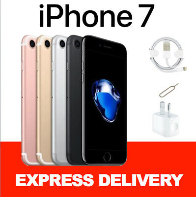 LIKE NEW Apple iPhone 7 32GB 128GB 256GB 100 Factory Unlocked Smartphone