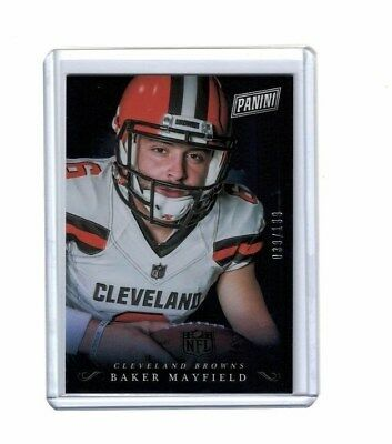 2018 PANINI BLACK FRIDAY BAKER MAYFIELD RC 39199 BM