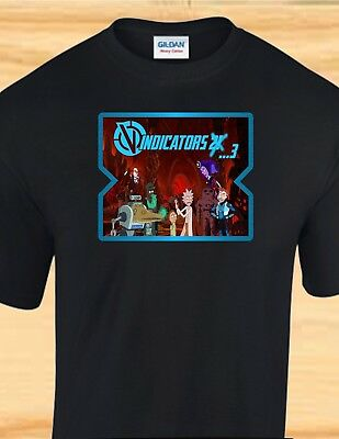 RICK AND MORTY - THE VINDICATORS - FUNNY ADULT T-SHIRT - SHORT OR LONG SLEEVE