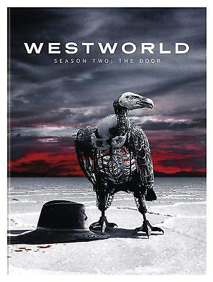 Westworld The Second Season 2 Two DVD 2018 3-Disc Set NEW Free Shipping-