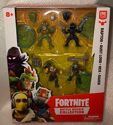 Fortnite Battle Royale Collection Mini Figure 4-Pack