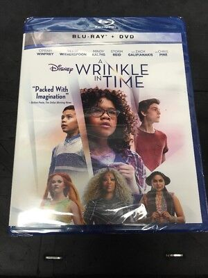A Wrinkle In Time Blu Ray -DVD No Slipcover