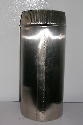 8 inch x 36 inch long Stainless Steel Stove Pipe  Made in Maine USA