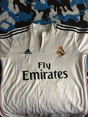 ISCO 23 Real Madrid Soccer Team - Mens White Home Soccer Jersey - Size L