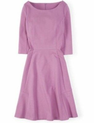 Boden Westminster Pink Skater Sleeve Dress Kate Middleton Size 6