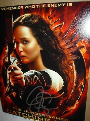 JENNIFER LAWRENCE SIGNED RP AUTOGRAPHED PHOTO 8x10 THE HUNGER GAMES