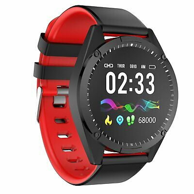 Waterproof Bluetooth Smart Watch Touch Screen Wristband Fitness Tracker For iOS