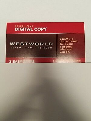 WESTWORLD SEASON 2 THE DOOR DIGITAL HD CODE - JONATHAN NOLAN