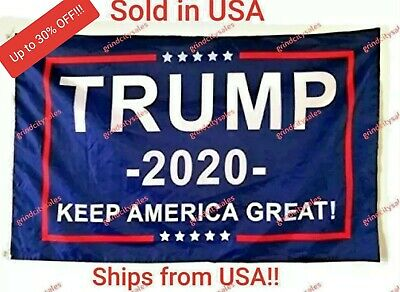 MAGA Trump 2020 3x5 Flag- Keep America Great Keep President Donald Trump