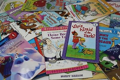 Lot of 10 Level 1 -Step into Reading - My First- I Can Read-Learn Books-MIX