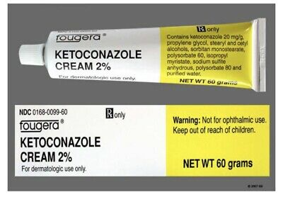 ketoconazol cream 2 Factory Sealed  30 GRAM TUBE-