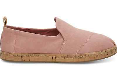 Toms DECONSTRUCTED ALPARGATA Womens Bloom Hemp Cork Canvas Flats Shoes