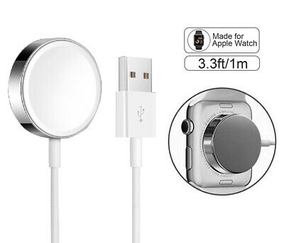 For Apple Watch Magnetic Charging Cable Charger 38404244mm Series 12345