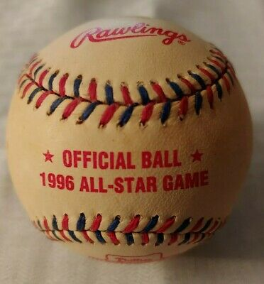 1996 MLB ALL STAR GAME OFFICIAL BASEBALL PHILADELPHIA PHILLIES VETERANS STADIUM