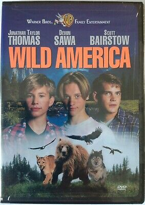 Wild America DVD 1997 FACTORY SEALED  CHAPTERS INSIDE  RARE