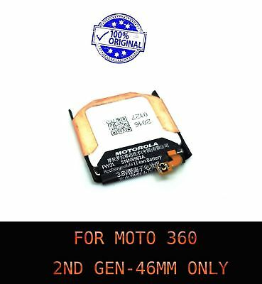 New Genuine OEM Battery For Moto 360 2nd-Gen 2015 Smart Watch SNN5962A FW3L 46mm