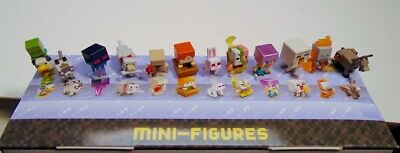 Minecraft mini figures NEW Cute Earth Dungeon Series 18 19 20 B2G1