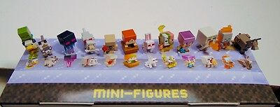 Minecraft minifigures NEW Chest 3 - 4 series Ship Free BOGO Get 4th FREE