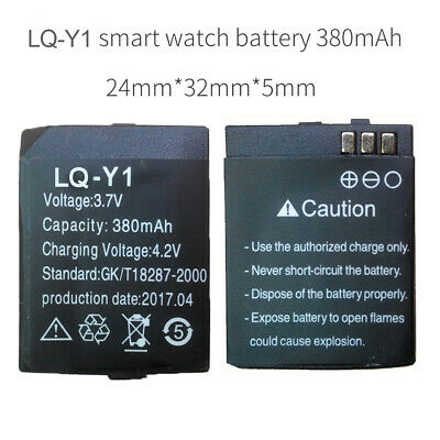 LQ-Y1 battery for Y1 smart watch phone 380mAh LQ-Y1 battery long time battery
