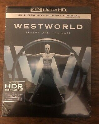 New Westworld Season One The Maze 4K Ultra HD- Blu Ray-Digital