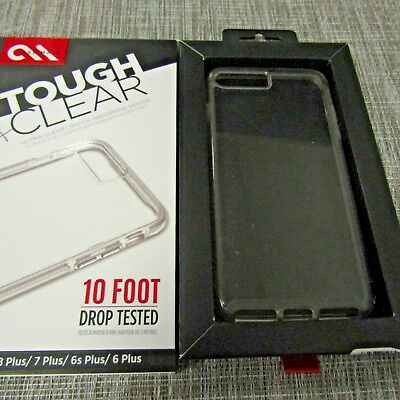 CASE MATE TOUGH CLEAR FOR APPLE IPHONE 66S78 PLUS PLEASE READ 2830