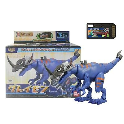 Digimon Xros Wars Figure Series 03 Greymon Digi-Fusion DigiMemory Leviamon Japan