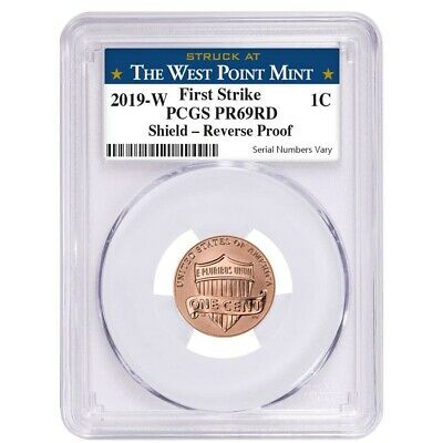 2019 W Reverse Proof Lincoln Penny Cent Comm- PCGS PF 69 FS West Point