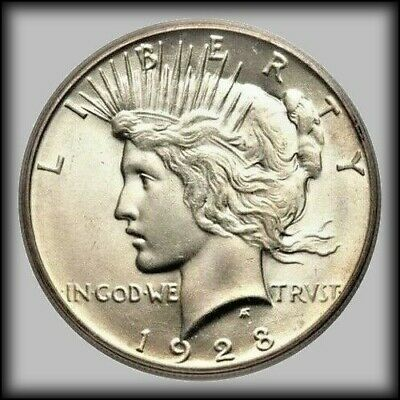 1928 Peace Dollar Heads on Both Sides Please Read Listing