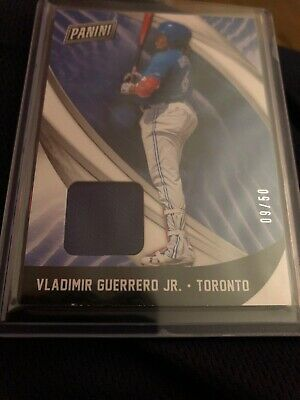 2018 Panini Black Friday Jerseypatch Vladimir Guerrero Jr Rookie RC d 950