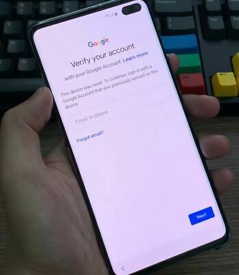 Google account FRP bypas removal Samsung Galaxy S10E S10 S10- G970 G973 G975